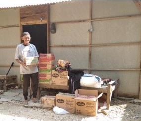 Peduli : 2 TKI di Taiwan Bantu Sembako Warga Sragen